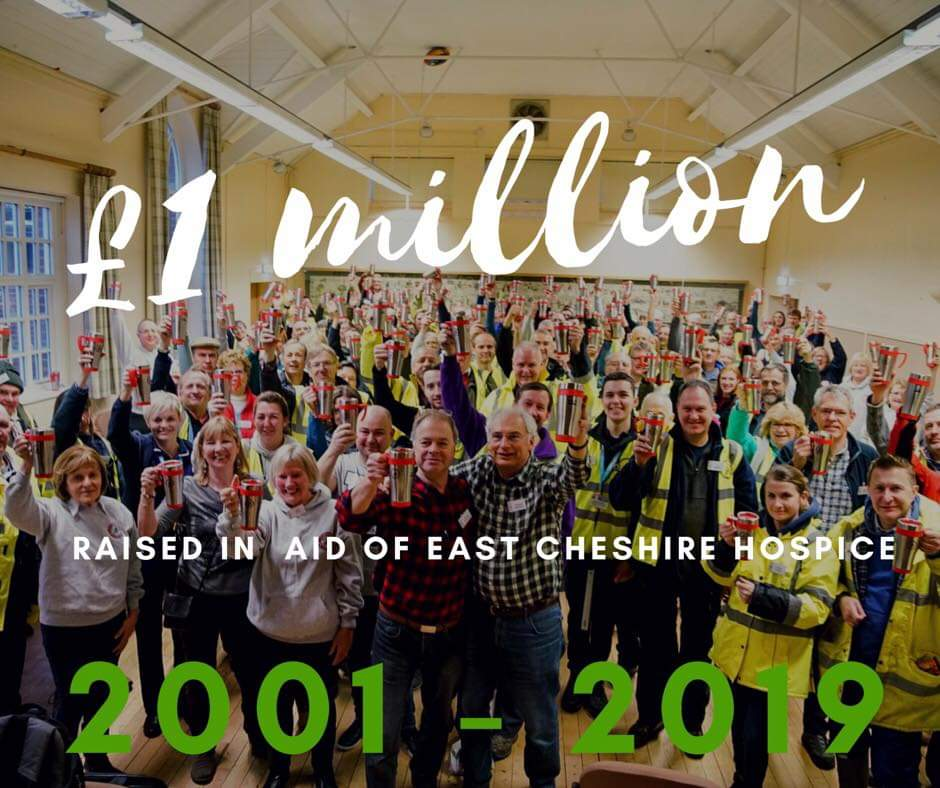 One Million Pounds Raised